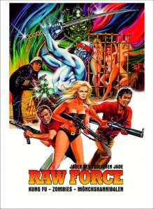 Raw Force (Blu-ray & DVD im Mediabook), 2 Blu-ray Discs