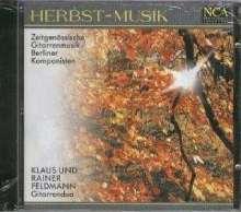 Gitarrenduo Klaus & Rainer Feldmann - Herbst-Musik, CD