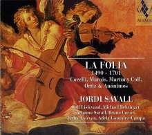 La Folia-Variationen 1490-1701, CD