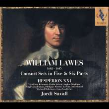 William Lawes (1602-1645): Consortmusik für 5 & 6 Violen & Orgel, 2 CDs