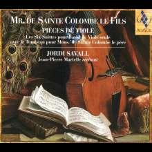 Sieur de Sainte-Colombe Le Fils (1660-1720): 6 Suiten für Bass-Gambe solo, 2 CDs