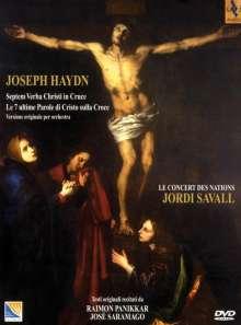 Joseph Haydn (1732-1809): Die sieben letzten Worte unseres Erlösers am Kreuze, DVD