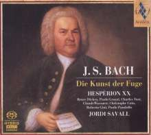 Johann Sebastian Bach (1685-1750): Die Kunst der Fuge BWV 1080, 2 SACDs