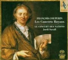 Francois Couperin (1668-1733): Concerts Royaux Nr.1-4, SACD