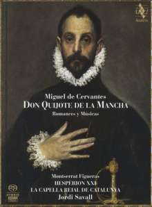 Don Quijote de la Mancha - Romances et Musiques, 2 Super Audio CDs