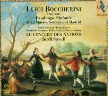 Luigi Boccherini (1743-1805): Symphonien G.511 & 517, SACD