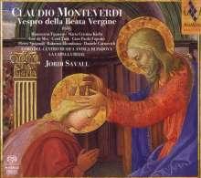 Claudio Monteverdi (1567-1643): Vespro della beata vergine, 2 SACDs