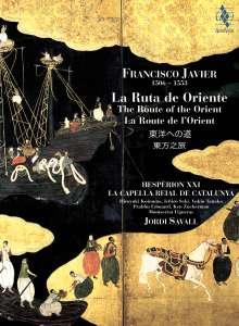 Francisco Javier - La Ruta de Oriente  (SACD + Buch), 2 Super Audio CDs