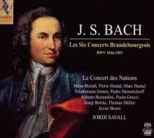 Johann Sebastian Bach (1685-1750): Brandenburgische Konzerte Nr.1-6, 2 SACDs