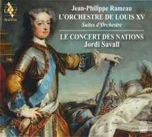 Jean Philippe Rameau (1683-1764): Suiten für Orchester, 2 Super Audio CDs