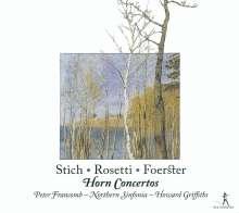 Peter Francomb spielt Hornkonzerte, CD