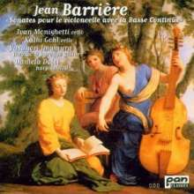 Jean-Baptiste Barriere (1707-1747): Sonaten f.Cello & Bc Nr.2,4,6 (Heft 2);Nr.2,4,6 (Heft 3), CD