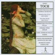 Ernst Toch (1887-1964): Cellokonzert op.35, CD