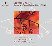 Giovanni Mossi (1680-1742): Sonaten für Violine & Bc op.1 Nr.1,2,5,9,10,12, CD