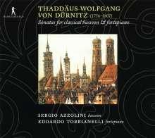 Thaddäus Wolfgang von Dürnitz (1756-1807): Sonaten für Fagott & Klavier Nr.1-6, CD