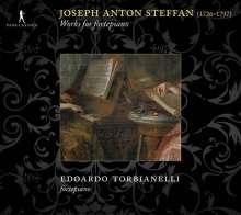 Josef Anton Steffan (1726-1797): Werke für Hammerklavier, 2 CDs