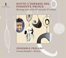 Sotto L'Imperio Del Possente Prince, CD
