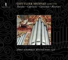 Gottlieb Muffat (1690-1770): Orgelwerke, CD