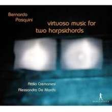 Bernardo Pasquini (1637-1710): Sonaten Nr.1-14 für 2 Cembali, CD