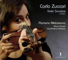 Carlo Zuccari (1704-1792): Sonate a Violino e Basso o Cembalo op.1 (Mailand 1747), CD
