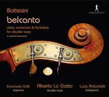 "Giovanni Bottesini (1821-1889): Arien,Romanzen & Fantasien für Kontrabass ""Belcanto"", CD"
