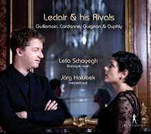 Leila Schayegh & Jörg Halubek - Leclair & his Rivals, CD