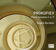 Serge Prokofieff (1891-1953): Klaviersonaten Nr.2,4,7, CD