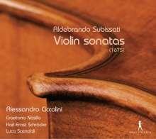 Aldebrando Subissati (1606-1677): Violinsonaten (1675), CD
