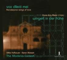 Vox Dileti Mei - Renaissance Songs of Love, CD