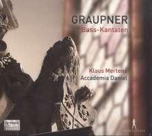 Christoph Graupner (1683-1760): 3 Bass-Kantaten, CD