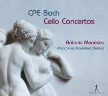 Carl Philipp Emanuel Bach (1714-1788): Cellokonzerte Wq.170-172, CD