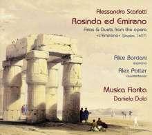 "Alessandro Scarlatti (1660-1725): Rosinda ed Emireno - Arien und Duette aus der Oper ""L'Emireno"" (Neapel 1697), CD"