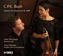 Carl Philipp Emanuel Bach (1714-1788): Werke für Violine & Tasteninstrumente, CD
