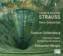 Franz Strauss (1822-1905): Hornkonzert op.8, CD