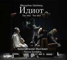 Mieczyslaw Weinberg (1919-1996): Der Idiot (Oper in vier Akten), 3 CDs