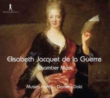 Elisabeth-Claude Jacquet de la Guerre (1665-1729): Sonaten Nr.1-6 für 1 oder 2 Violinen & Bc, CD