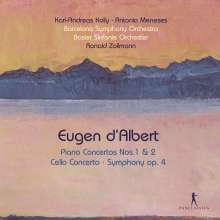 Eugen D'Albert (1864-1932): Klavierkonzerte Nr.1 & 2, 2 CDs