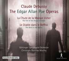 Claude Debussy (1862-1918): The Edgar Allan Poe Operas, 2 CDs