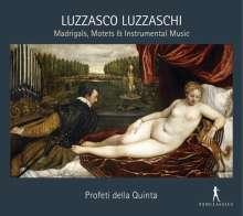 Luzzasco Luzzaschi (1545-1607): Madrigale, Motetten, Instrumentalmusik, CD