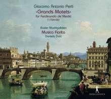 Giacomo Antonio Perti (1661-1756): Grands Motets für Ferdinando de'Medici (1704-1706), CD