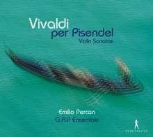 "Antonio Vivaldi (1678-1741): Sonaten für Violine & Bc ""Die Pisendel Sonaten"", CD"