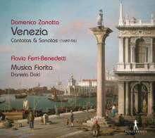 """Domenico Zanatta (1665-1748): Kantaten & Sonaten - """"Venezia"""", CD"""