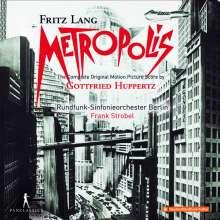 Gottfried Huppertz (1887-1937): Metropolis (Filmmusik - Gesamtaufnahme), 2 CDs