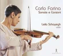 Carlo Farina (1600-1640): Sonate e Canzoni per il Violino con il Basso per sonare, CD