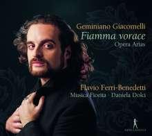 "Geminiano Giacomelli (1692-1740): Arien & Sinfonias - ""Fiamma vorace"", CD"