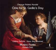 Georg Friedrich Händel (1685-1759): Ode for St.Cecilia's Day, CD