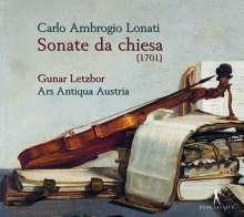 Carlo Ambrogio Lonati (1645-1703): Sonate da Chiesa Nr.1-3,5,6 (Salzburg 1701), CD