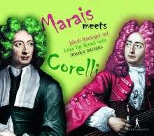 Marais meets Corelli, CD