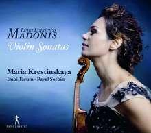 Luigi Ludovico Madonis (1695-1777): Sonaten für Violine & Bc Nr.1,2,4,5,7,8 (St.Petersburg 1738), CD