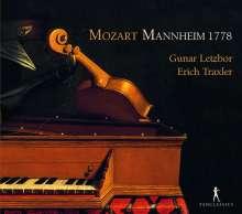 Wolfgang Amadeus Mozart (1756-1791): Sonaten für Violine & Klavier (Mannheim 1778), CD